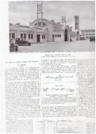 LA GARE DE LENS  1927    ARTICLE ET PHOTOS - Vecchi Documenti