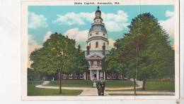 BR44495 State Capitol Annapolis      2  Scans - Annapolis