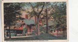 BR44522 The Late Mark Twain S Residence Farmington Evenue Hartford   2  Scans - Hartford