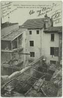 CPA Guerre 1914-18 54000 NANCY 54 Bombardement Des 9-10 Septembre 1914 Intérieur De Cour Pris De La Rue Jeannot WWI WW1 - Nancy