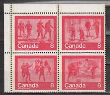 Canada 544 à 547 ** - 1952-.... Regno Di Elizabeth II