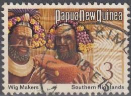 Papua New Guinea 1973 Michel 245 O Cote (2005) 0.10 Euro Créateur Des Perruques Cachet Rond - Papouasie-Nouvelle-Guinée