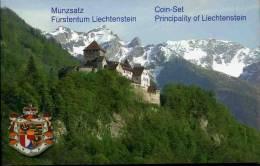 Liechstenstein Coffret BU De 1 Rappen à 5 Francs Suisses Mix De Date - Liechtenstein