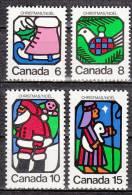 Canada 515 à 518 ** - 1952-.... Regno Di Elizabeth II