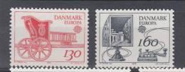 DENMARK MNH** MICHEL 686/87 EUROPA 1979 - 1979