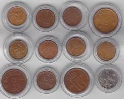 Noorwegen / Norge    Lot  UNC Coins  Please Read  Verry Intresting !!!!! - Noorwegen