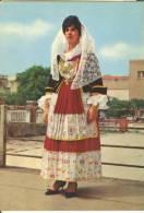 CA035 - Quartu S. Elena (Cagliari) - Costumi Sardi - Donna Woman Femme - Quartu Sant'Elena