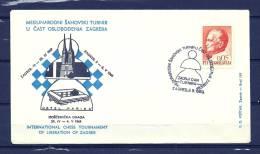 JUGOSLAVIJA, 08/05/1969 Medunarodni Sahovski Turnir - ZAGREB (GA7605) - Schaken
