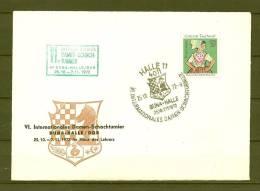 DUITSLAND, 25/10/1972 Internationales Damen Schachtunier - HALLE (GA7765) - Schaken