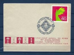 POLSKA, 07/11/1969 Champ Onnat Mondjal Des Echecs - LUBLIN (GA7620) - Schaken