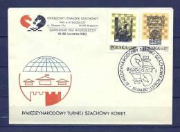 JUGOSLAVIJA , 10/04/1980 Miedzynarodowy Turniej Szachowy - BYDGOSZCZ  (GA8123) - Schaken