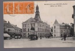 10 ROMILLY SUR SEINE - Hotel De Ville - éditions Thiébaut - Voyagé En 1921 - Romilly-sur-Seine