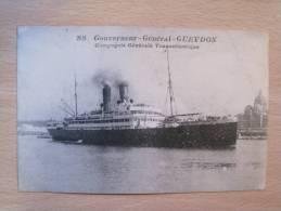 Gouverneur Général Gueydon - Compagnie Transatlantique - Dampfer