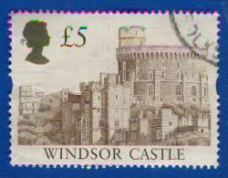 1992 - Europe - Grande-Bretagne - Château De Windsor -5£. Brun - ( Type De 1988 ) - Décote 50% - - Used Stamps