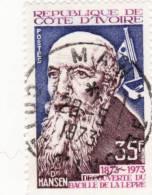1973 Costa D´Avorio - Dr. Hansen - Scoperta Del Bacillo Della Lebbra - Costa D'Avorio (1960-...)