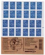 """2 Carnets LAMOUCHE N° 4127 """"Postexport"""" Avec RE En Marge Droite Et Daté Du 22.11.07. Superbes. - Carnets"""