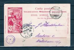 Postkaart Van Geneve Naar Berlin 09/09/1900 (GA6594) - Entiers Postaux