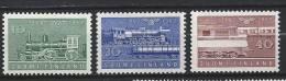 Finlande 1962  Neufs N°519/521 Chemins De Fer De L´état
