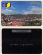 Grenada - St. George's Harbour 136CGRA AD98 4900ex - Grenada