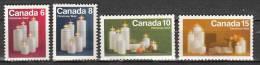 Canada 489 à 492 ** - 1952-.... Elizabeth II