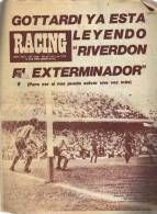 AÑO 1975   Nº 1648  REVISTA RACING  EQUIPO DE FUTBOL  ARGENTINA  OHL - Magazines & Newspapers