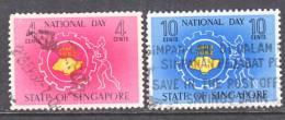 Singapore 60-61  (o)  NATIONAL  DAY - Singapore (1959-...)