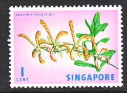 Singapore 62  Wmk.  Sideways  *  FLOWERS - Singapore (1959-...)
