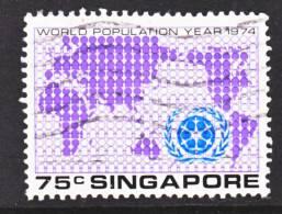 Singapore  217   (o)  WORLD  POPULATION - Singapore (1959-...)