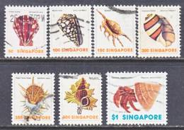 Singapore  264+   (o)  SEA SHELLS - Singapore (1959-...)