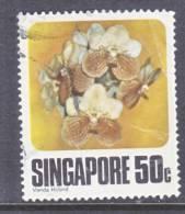 Singapore  321   (o)  FLOWERS  ORCHARDS - Singapore (1959-...)