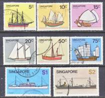 Singapore  337+   (o)  SAILING  SHIPS - Singapore (1959-...)