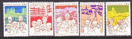 Singapore  448 A-E   (o) - Singapore (1959-...)