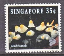 Singapore  819  Perf  13 X 13 1/2   (o)  MARINE  LIFE  1997 Issue - Singapore (1959-...)