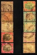 Malaya 1901-10 Tiger Group Used - Federated Malay States