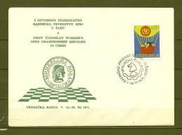 JUGOSLAVIJA, 14/11/1971 Otvoreno Pojedinacno Radnicko Prvenstvo U Sahu - VRNJACKA BANJA  (GA7756) - Schaken