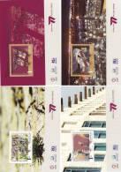 Qatar,new Issue 2010- Supllying Gaz,issued In 4 Souvenir Sheets- - Qatar