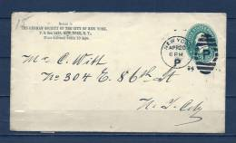 Brief Van New York (GA6831) - Autres - Amérique