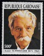 A5040  GABON 1993, SG1155 80th Anniv Dr Schweitzer's Visit To Lambarene,  Mnh - Gabon