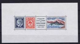 Nouvelle Caledonie: 1960 Block 2 Timbres = MNH/**, Block = MH/* - Blokken & Velletjes