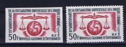 Nouvelle Caledonie: 290 MNH/** Non Dentelé, 1963 Mi 393 - Ongebruikt