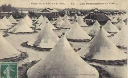 SISSONNE     Le Camp  , Vue Panoramique                                   Circuler - Guerre 1914-18