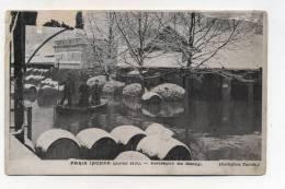 CPA 75 :  PARIS   Inondations 1910 Entrepôts De Bercy Loury Et Guiraud       VOIR  DESCRIPTIF  §§§§§§§ - Paris Flood, 1910