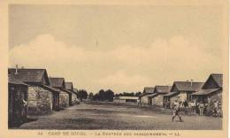 SOUGE        Un Coin Du Camp   La Rentrée Aux Baraquements                                    Pas  Circuler - Guerre 1914-18