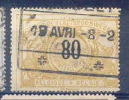 B235 -België  Spoorweg Chemin De Fer  TR34  +  DRUK OP ACHTERZIJDE !!!! - 1895-1913