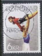 Färöer, Mi 677, 100 Jahre Turnvereine Auf Den Färöer-Inseln - Faroe Islands