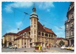 EUROPE SLOVENIA MARIBOR THE CHURCH BIG POSTCARD 1969. - Slovenia