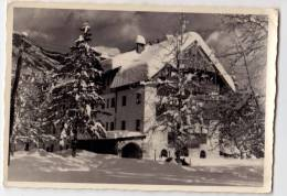 EUROPE SLOVENIA BOHINJ HOTEL ZLATOROG BIG POSTCARD 1958. - Slovenia