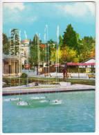 EUROPE SLOVENIA PORTOROZ CITY AREA BIG POSTCARD 1963. - Slovenia