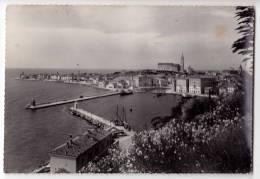 EUROPE SLOVENIA PIRAN PANORAMA BIG POSTCARD 1966. - Slovenia