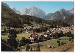 EUROPE SLOVENIA KRANJSKA GORA PANORAMA BIG POSTCARD 1975. - Slovenia